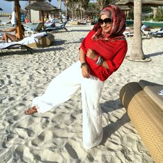 beach inspired outfit modest hijabi I HAVE TO WEAR THIS I NEED TO TRY THIS ONE DAY AT THE BEACH THIS IS LIT THIS IS PURE FIRE DOPE
