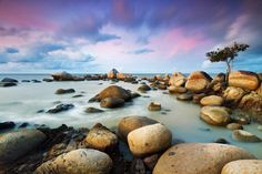 Landscape Photography by Singkawang, Indonesia based photographer Bobby Bong. Bobby loves to capture the moments, light, water movement, shape and color Landscape Photos, Landscape Photography, Nature Photography, Inspiring Photography, Cool Pictures, Cool Photos, Amazing Photos, Amazing Places, Beautiful Places