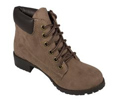 Equity! Outdoor Round Toe Lace Up Ankle Boots - lustacious