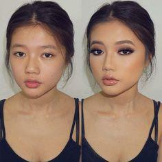 Augen make up alltag Drug Use in Schools The a Asian Wedding Makeup, Asian Eye Makeup, Bridal Makeup Looks, Natural Wedding Makeup, Wedding Hair And Makeup, Natural Makeup, Hair Makeup, Make Up Looks, Cute Makeup