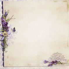 violet frame ღ Decoupage Vintage, Vintage Paper, Borders And Frames, Backrounds, Writing Paper, Paper Design, Vintage Images, Journal Paper, Printable Paper