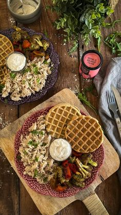 Happy Sisters, Cooking Recipes, Healthy Recipes, Bread Rolls, Fitness Tips, Healthy Life, Waffles, Brunch, Good Food