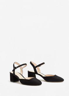 Slingback shoes   MANGO