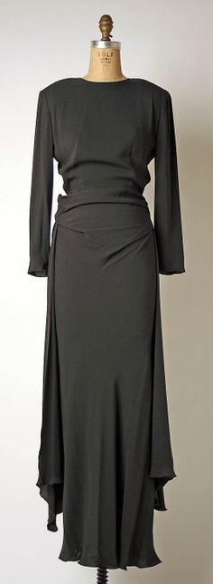 Armani Dress - c. 1998 - by Giorgio Armani (Italian, born 1934) - Silk - @~ Mlle