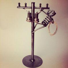 Metal Art Lineman Boogie by TheDaRkMetalArtStore on Etsy