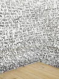 Fiona Banner, installation on the wall Word Art, Fiona Banner, Instalation Art, Conceptual Art, Oeuvre D'art, Illusions, Contemporary Art, Graffiti, Street Art