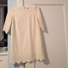 Dress Lightly worn cream dress Tobi Dresses Mini