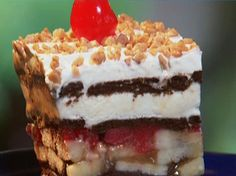 Frozen Banana Split from FoodNetwork.com