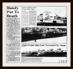 Ted Bundy Execution 1989 Major Events In History, Real Monsters, Ted Bundy, Newspaper Headlines, Newspaper Article, Thing 1, Serial Killers, Mug Shots, True Crime