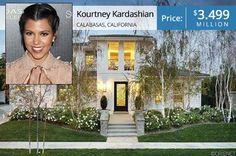 Kourtney Kardashian's Calabasas casa for sale
