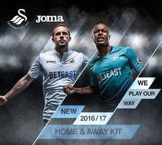 Novo conjunto Joma para o Swansea City