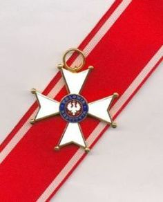 Current version of the Commander's Cross Polonia Restituta  http://followmyfreedom.wordpress.com/2013/02/12/oldest-living-man-in-europe/#more-157