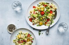 Try Pasta salad by FOOBY now. Or discover other delicious recipes from our category main dish. Easter Recipes, New Recipes, Pasta Salad Recipes, Food Trends, Original Recipe, Food Print, Main Dishes, Veggies, Yummy Food