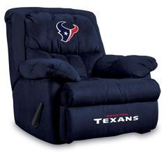 New York Jets NFL Home Team Recliner The most comfortable recliner you can imagine. New York Jets recliner has Overstuffed arms and back Vancouver Canucks, Green Bay Packers, Arkansas Razorbacks, Home Team, Oakland Athletics, Cincinnati Bengals, Detroit Red Wings, Kansas City Chiefs, Oklahoma Sooners