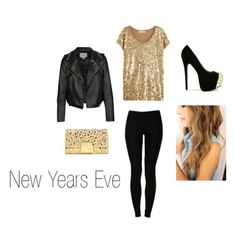 New Year's Eve outfit. I would do leather leggings though.