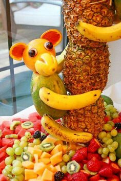Animal Fruit Platter