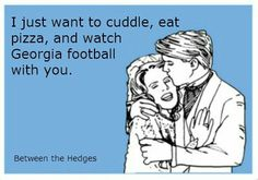 UGA...two weeks and this is what my Saturday will consist of...I guess we will watch an Auburn game mixed in there too ;/