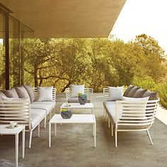"""30"""" height .Vista Seating Collection by Gloster"""