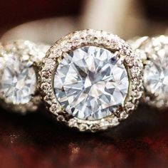 """Bhjewelers.com  """"1.00 Carat Center Round Brilliant Cut Diamond Engagement Ring. How about you?"""""""