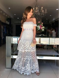 Gala Dresses, Casual Dresses, Fashion Dresses, Summer Dresses, Formal Dresses, Lace Bridesmaid Dresses, Dream Wedding Dresses, Look Boho, Fashion Design Sketches