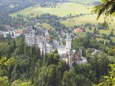 Neuschwanstein Castle.  I will go there one day.
