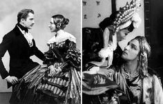 On the right: Vincent Price & Helen Hayes in Victoria Regina (1935) On the left: Anna May Wong & Vincent Price in Turandot (1937)