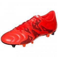 adidas Performance X 15.3 FG AG Leather Fußballschuh  knallig  bunt  rockit 2466ce5b3490e