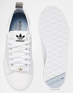 Adidas | adidas Originals Honey 2.0 White Trainers at ASOS