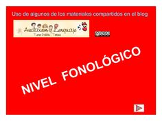FONOLOGÍA  by lucilogo via slideshare