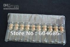 Wholesale Transparent Glass - Buy Free Shipping, 20pcs / Lot Transparent Glass Bottles, Cork And Transparent Small Glass Bottles,, $0.34 | DHgate Small Glass Bottles, Glass Containers, Reception Decorations, Cork, French Wedding, Free Shipping, Crafts, Jewelry, Manualidades