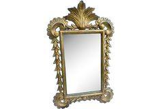 1950s Italian Gilded Mirror