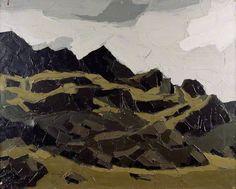 Mountains, Snowdonia - Kyffin Williams