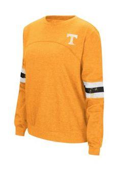 Colosseum Athletics Girls' Tennessee Volunteers Fleece Pullover - Orange - Medium