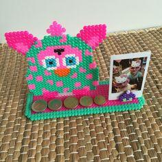 Furby photo holder • by Creatief Doen •