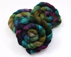 Mixed BFL Roving - Hand Dyed Roving for Felting or Spinning via Etsy