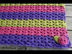 ▶ Episode 77: How to Crochet the Sorbetto Baby Blanket & Play Mat - YouTube