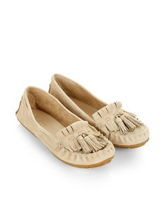 Rosella Driving Moccasin Shoe   Taupe   Monsoon