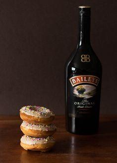 Baked Baileys Doughnuts with a Baileys Glaze   Recipes From A Pantry