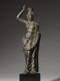 A HELLENISTIC BRONZE FIGURE OF HERMAPHRODITE  , CIRCA 2ND/1ST CENTURY B.C.