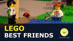 Best Friends Lego Brickfilm - YouTube Lego short movie, Lego figure gets a friend and on another day they go to the gym. Lego Stop Motion Animation #lego #brickfilm #stopmotion #bestfriend Stop Motion Movies, Lego Figures, Going To The Gym, Best Friends, Animation, Make It Yourself, Film, Youtube, Beat Friends