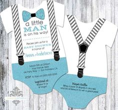 Little man invitations baby shower baby hoyt shower ideas in 2018 20 little man bow tie and suspenders baby shower invitation onesie shaped bow tie filmwisefo