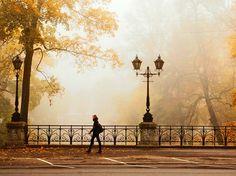 autumn, riga latvia
