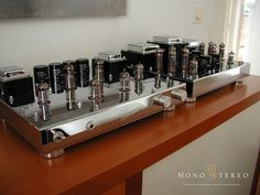 Mono and Stereo High-End Audio Magazine: Roehrenschmiede preamplifier and power amplifier