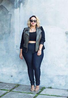 plus size skinny jeans - Gabi Fresh