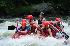 White Water Rafting will put a smile on your face!