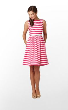 pink stripes.