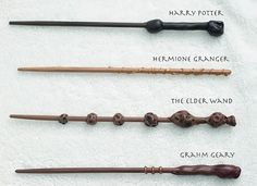 Harry Potter Wand Tutorial ....