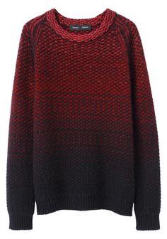 Proenza Schouler / Textured Ombre Pullover   La Garçonne