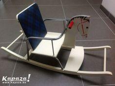 Houten schommelpaard vintage, Speelgoed, West Vlaanderen | Kapaza.be