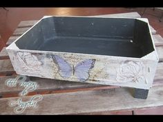 YouTube Recycling, Diy Recycle, Diy Wooden Crate, Fruit Box, Recycled Wood, Gift Store, Wood Boxes, Pallet Furniture, Crates